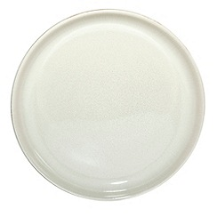 Denby - White 'Linen Kitchen' breakfast side plate
