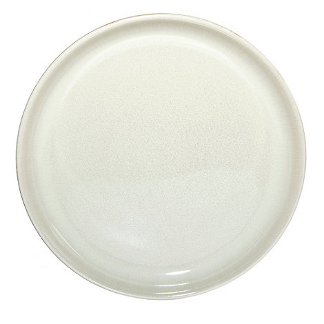 Denby - Cream glazed +Linen+ breakfast side plate