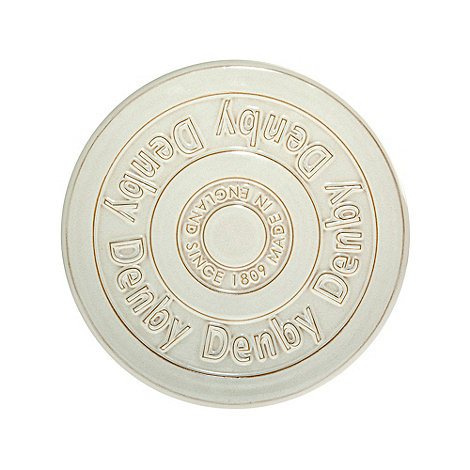 Denby - White 'Linen Kitchen' kitchen trivet