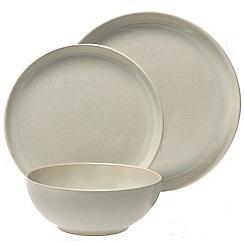 Denby - White 'Linen Kitchen' 12 piece dinner set
