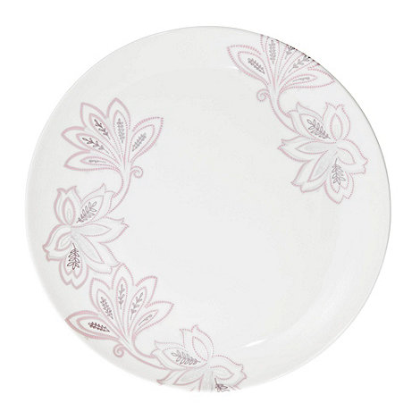 Denby - Fine china cream +Monsoon Chantilly+ dinner plate