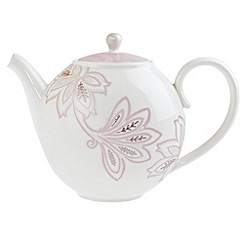 Denby - Fine china 'Monsoon Chantilly' teapot