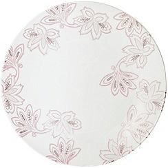 Denby - Fine china 'Monsoon Chantilly' round platter