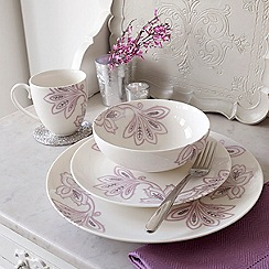 Denby - Fine china 'Chantilly' 16 piece dinnerware set