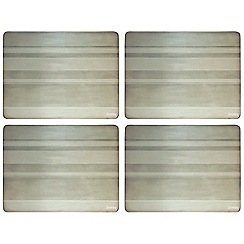 Denby - Set of four natural placemats