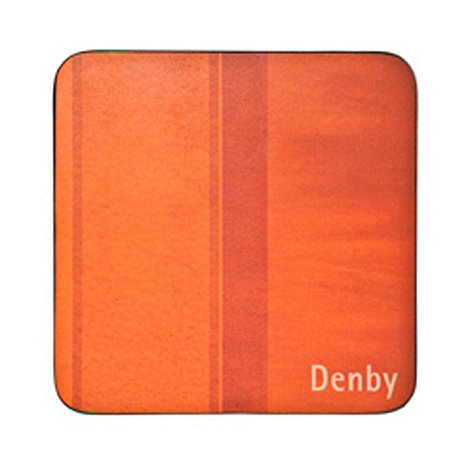 Denby - Pack of 4 orange coasters