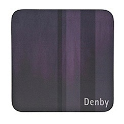 Denby - Set of four purple coasters