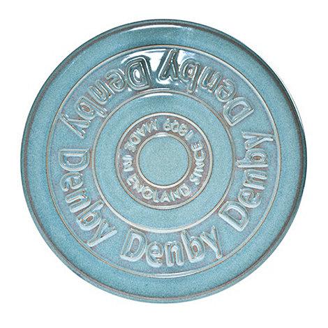 Denby - Stoneware aqua Azure trivet
