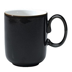 Denby - Black Straight Mug