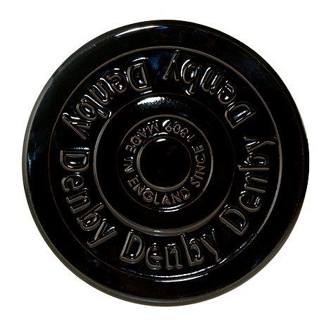 Denby - Stoneware black Jet trivet