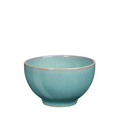 Denby - Aqua glazed +Azure+ small cereal bowl