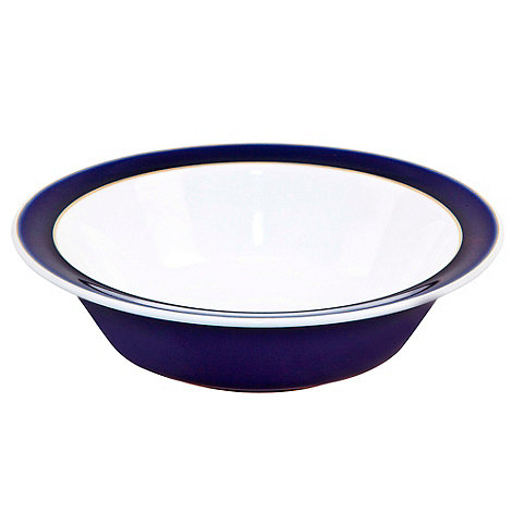 Denby - Stoneware dark blue cereal bowl