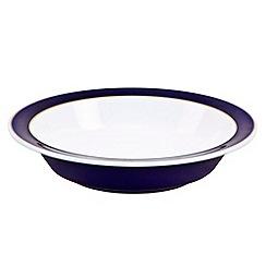 Denby - Stoneware dark blue pasta bowl
