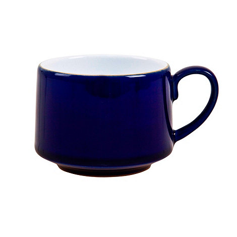 Denby - Stoneware dark blue teacup