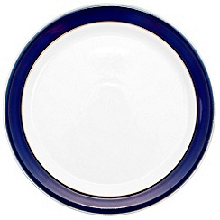 Denby - Stoneware dark blue dinner plate