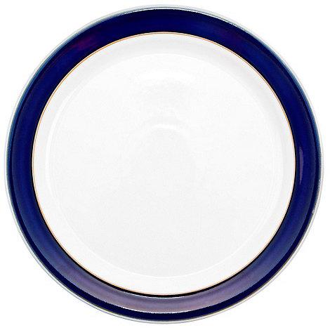 Denby - Stoneware dark blue dinner plate