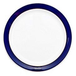 Denby - Stoneware dark blue dessert plate