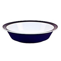 Denby - Stoneware dark blue serving bowl
