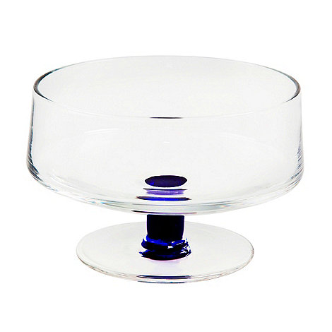 Denby - Set of two glass dessert bowls