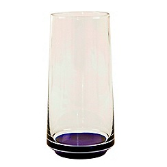 Denby - Large glass vase