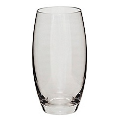 Denby - Grey lustre large tumbler glass
