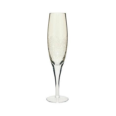 Denby - Gold lustre +Lucille+ champagne flute