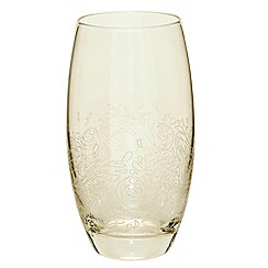Denby - Gold lustre large tumbler glass