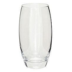 Denby - Silver lustre large tumbler glass