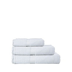 Debenhams - Blue 'Zero Twist' cotton towels