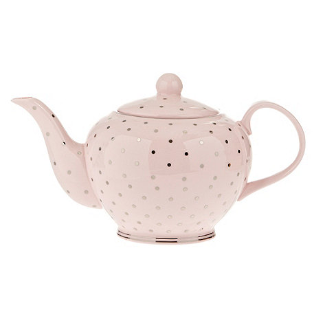 Bombay Duck - Pink spotted teapot