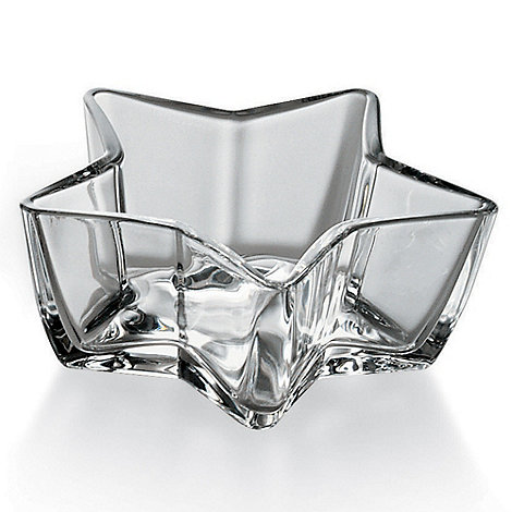 Vidivi Glass made in italy - Glass Star Bowl