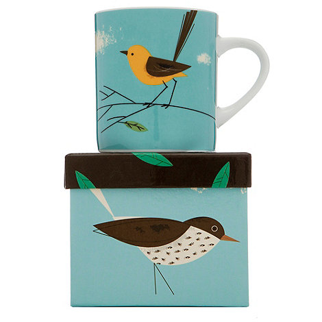 Magpie - Porcelain wagtail mug