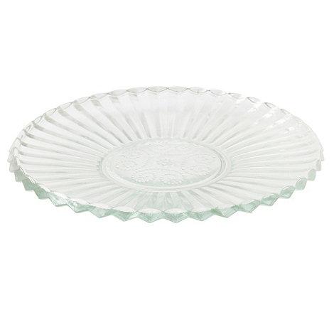 Lisbeth Dahl - Lisabeth Dhal glass cake plate