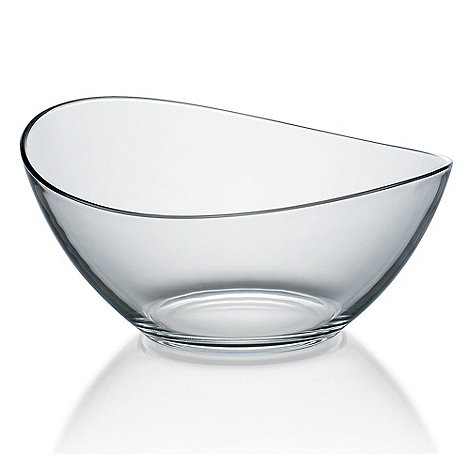 Vidivi Glass made in italy - Wavy edged bowl