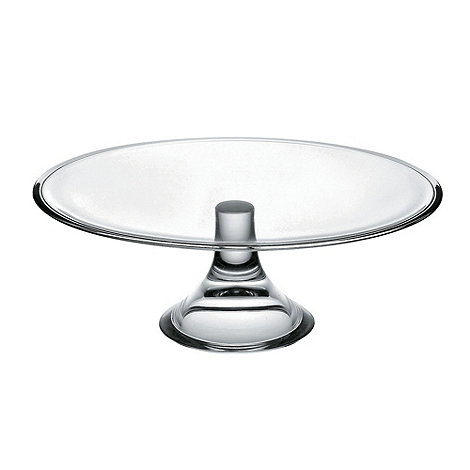 Vidivi Glass made in italy - 32 inch cake plate