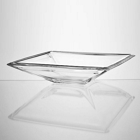 Vidivi Glass made in italy - Large glass square serving dish