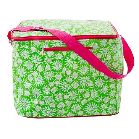 Rice - Green large cooler bag