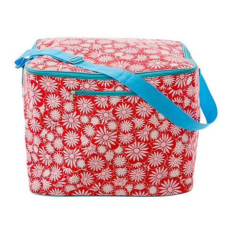 Rice - Red large cooler bag