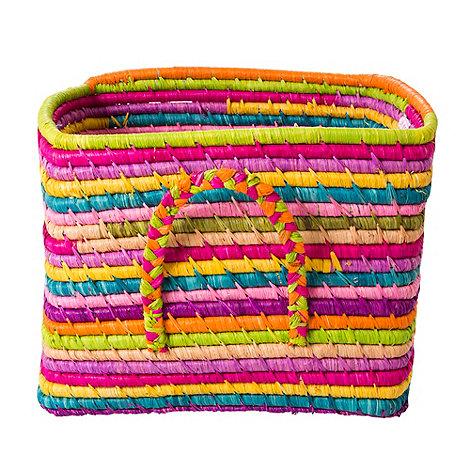 Rice - Raffia small square basket