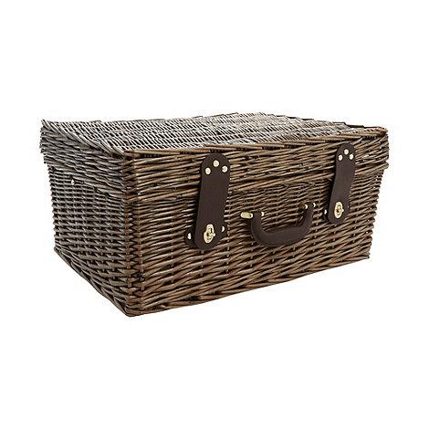J by Jasper Conran - Designer wicker four person picnic basket