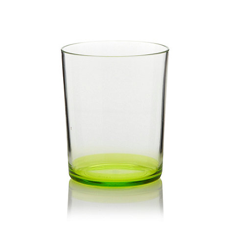 Butterfly Home by Matthew Williamson - Plastic lime green tumbler