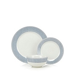 At home with Ashley Thomas - Spotted 12 piece dinner set