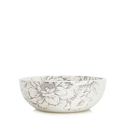 Home Collection - 'Heritage' floral print cereal bowl