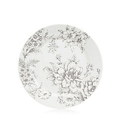 Home Collection - 'Heritage' floral print dessert plate