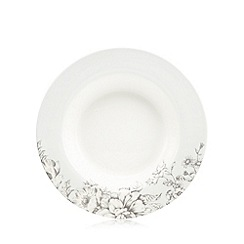 Home Collection - 'Heritage' floral print soup plate