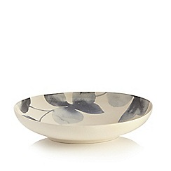 RJR.John Rocha - Grey floral print large bowl