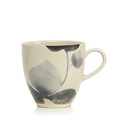 RJR.John Rocha - Grey floral print mug