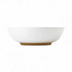 Barber and Osgerby by Royal Doulton - 'Olio' white pasta bowl 21cm