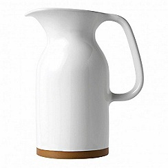 Barber and Osgerby by Royal Doulton - 'Olio' white medium jug