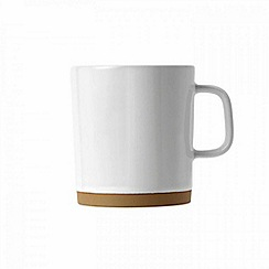 Barber and Osgerby by Royal Doulton - 'Olio' White mug